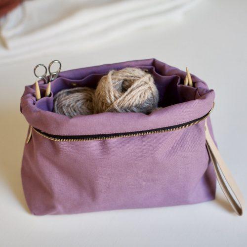 strikkevesker nettbutikk plystre, i soft lilac