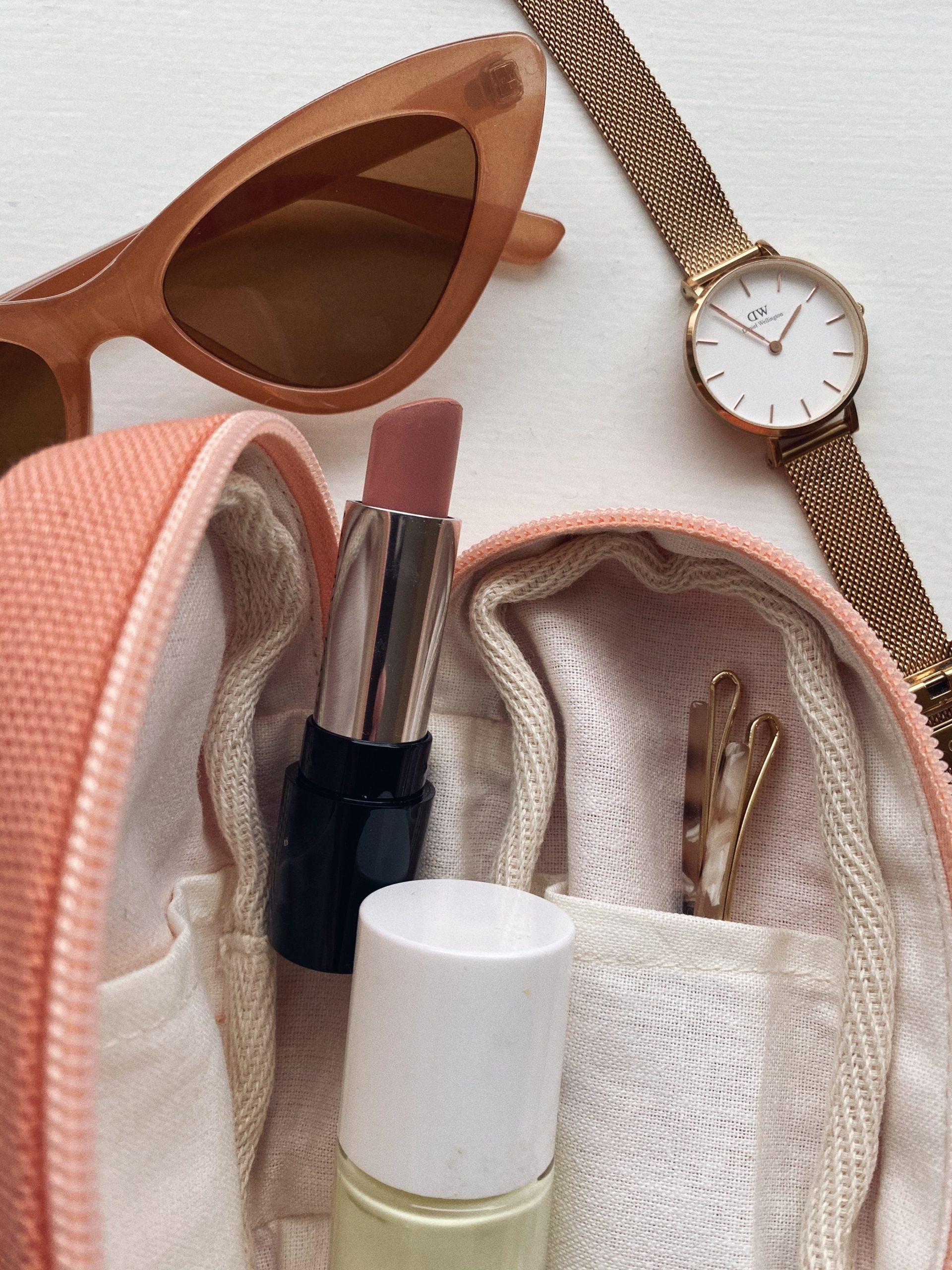 mini pouches fra plystre til strikkestæsj eller som lommebok