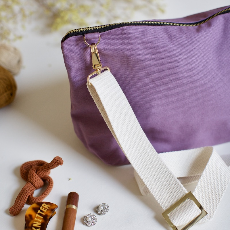 knitting pouch from plystre